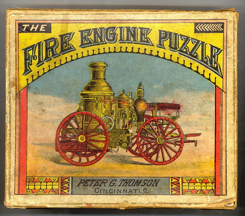 Victorian Fire Engine Puzzle by Mirror Image Gallery