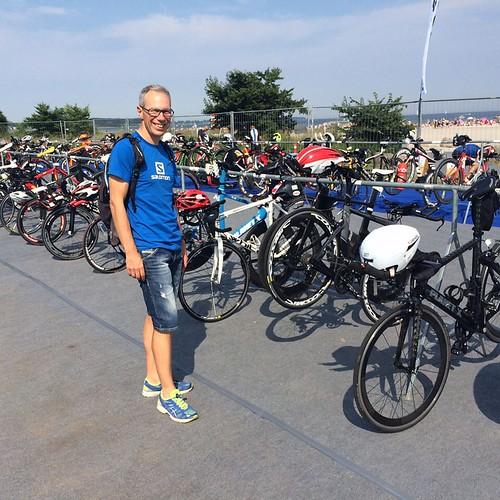 Så er cyklen tjekket ind til #FullDistanceFyn Så er det bare mig der skal være klar til i morgen #Ironman #racehard #Saysky