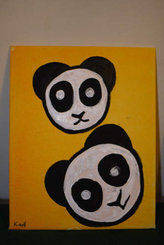 The panda project - by my son and me