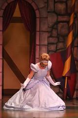 Royal Coronation Ceremony: Cinderella's final curtsey (armadillo444) Tags: princess disneyland disney cinderella fantasyland fantasyfaire coronationceremony
