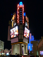Ballys display, Las Vegas