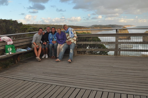 Great Ocean Road - Group photo!