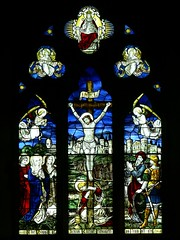 East window St. Andrew. Whilton