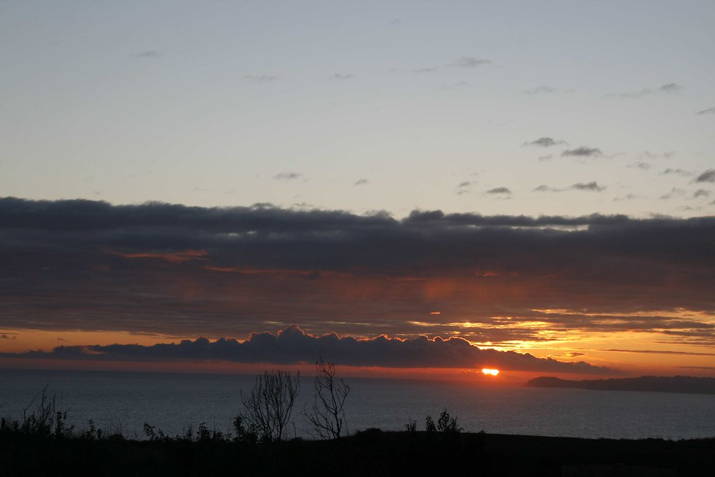 Sunset January 24 2009 Bluffs 2