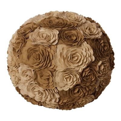Rosa pouf
