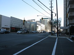 2009 01 23 - 0879 - Friendship Village - MD355 at S Park Ave - SfNW (thisisbossi) Tags: usa us md unitedstates maryland crosswalks trafficsignals friendshipvillage pedestriansignals southparkavenue md355