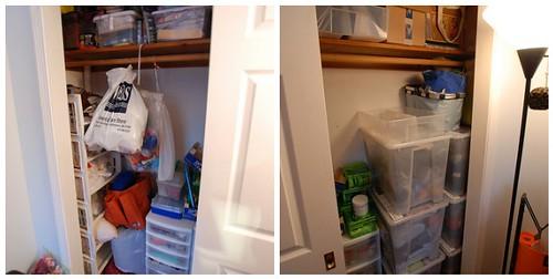 my crafty closet