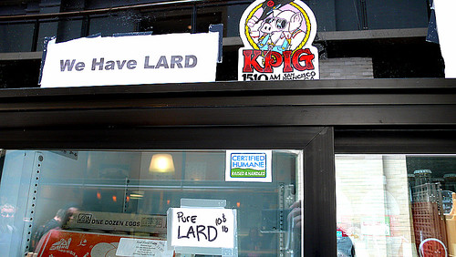 we have lard