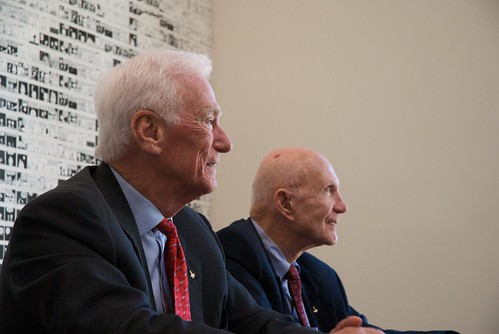 Cernan, Left and Stafford, Right