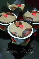 Leopar Desenli Cupcake