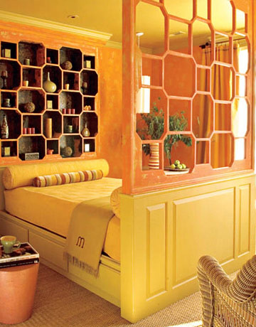'Ciara Yellow' by Farrow & Ball: Moroccan style by Barry Dixon