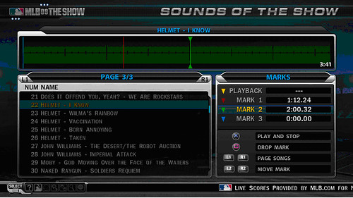 MLB 09 The Show Screenshot Sounds4