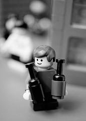 Rue Mouffetard, Paris (Balakov) Tags: boy paris lego wine cartier recreation minifig rue henri bresson mouffetard