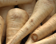 Radish? - Nope, Parsnips! - Thx Margret
