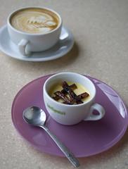 Maple-Bacon Pots de Creme (DaseinDesign) Tags: dessert bacon maple gainesville volta potsdecreme
