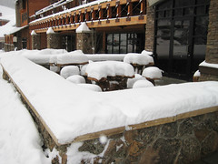 Base Area at Big Sky Resort 3-5-09