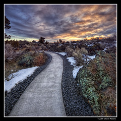 Strolling through Hell's Half Acre - HDR (James Neeley) Tags: rock sunrise landscape lava idaho hdr hellshalfacre photomatix 5xp mywinners jamesneeley theperfectphotographer great123