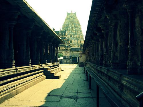 Virupaksha Temple compund