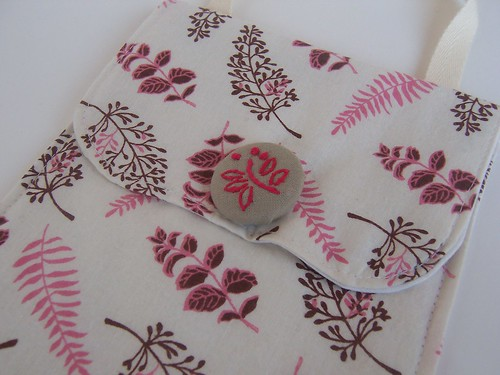 rose fern sachet pocket