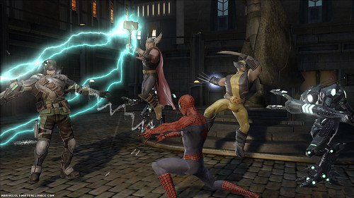 Marvel Ultimate Alliance 2 pelea
