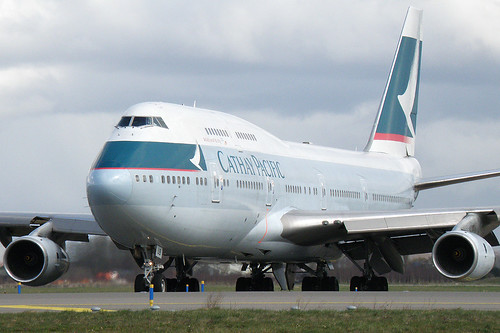 Cathay Pacific - Boeing 747-400 - B-HUB
