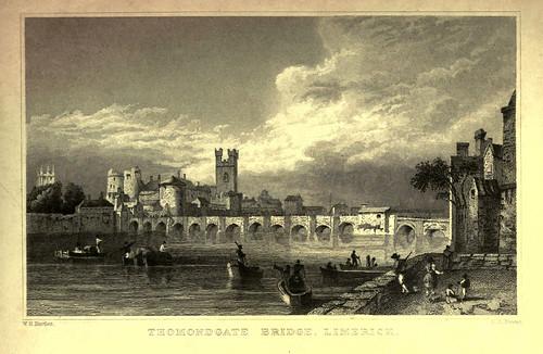 016-1- Puente de Thomondgate en Limerick Irlanda