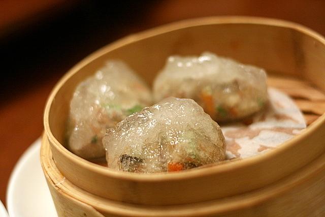 Steamed dumplings Teochew style (S$3.90)