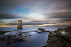 Rangefinder (dan barron photography - landscape work) Tags: longexposure lighthouse rangefinder whitleybay sigma1020mm madcolours nikond90