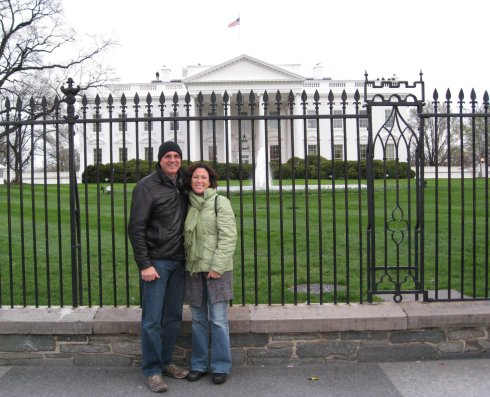 Mom & Dad at the White House!