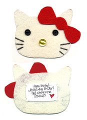 Hello Kitty Invite (mollypop) Tags: hellokitty hellokittyinvite hellokittyinvitation