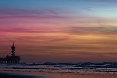 Pastel Sky (Fabi Fliervoet) Tags: sea sky seascape holland color colour netherlands dutch waves skies pastel stock shoreline nederland coastline scape coasts waterscape scheveningenhollandthenetherlandsnature fabifliervoet