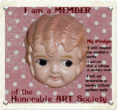 Honorable Art Society Badge!
