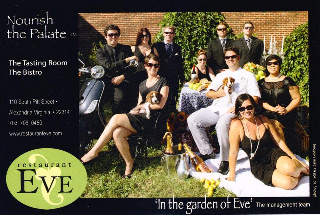 Restaurant Eve (Post Card)