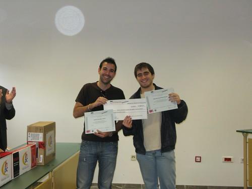 Entrega premios fase final CUSL - Granada