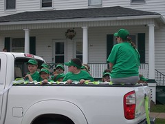The Kids in Throwing out Candy! (mathewjohn27) Tags: little league nanticoke