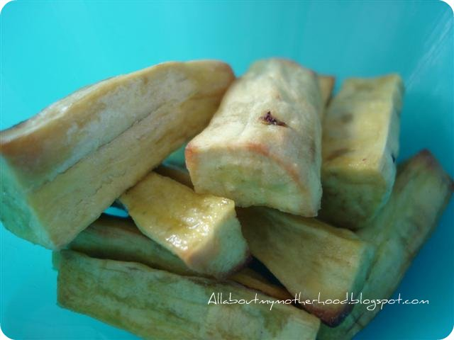 Sweet Potato Snack - Part I