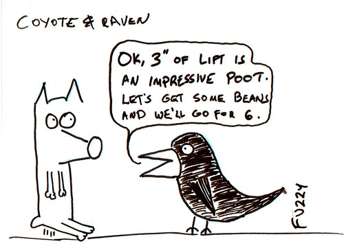 366 Cartoons - 081 - Coyote and Raven