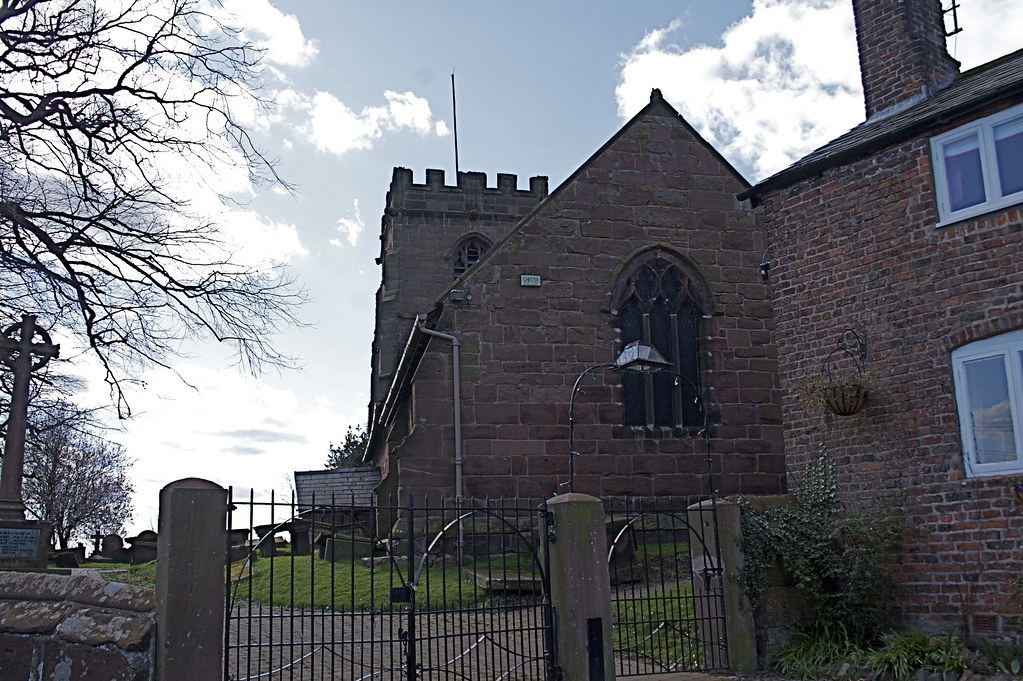 St Michael's Church, Shotwick Cheshire
