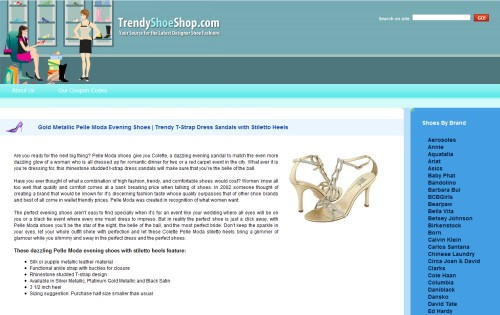 Trendy Shoes Shop