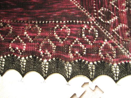 Heart shawl