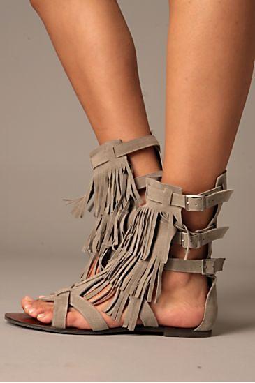 maraco fringe sandal, free people