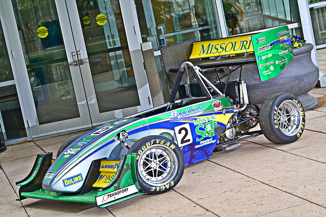 Missouri S&T Formual SAE Car Number 8/2