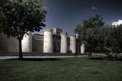 Aljafera_HDR (azuaravaconmigo) Tags: parque zaragoza castillo hdr palacio almozara aragn aljafera azuaravaconmigo
