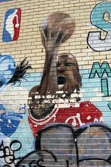 NYC - LES: Sports Mural - Michael Jordan