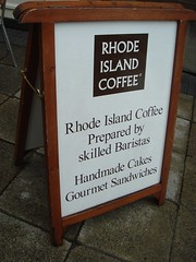 Rhode Island Coffee...in Warrington, UK