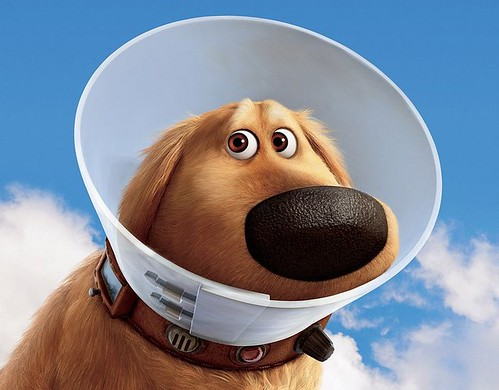 Pixar Up perro Dug