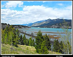 Columbia Lake - Spring (diecastbc) Tags: lake spring scenery bc columbia east kootenay