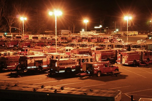 Earl Warren Firetruck Staging