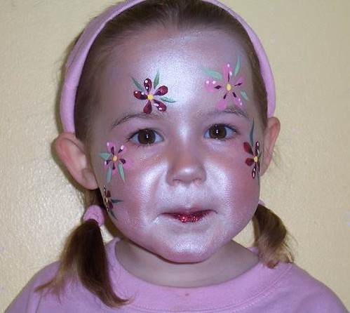 FAIRY PRINCESS/ MERMAID/ GIRLS DESIGN - Face Painting/ Fancy dress