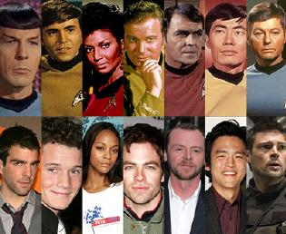 Star Trek casts